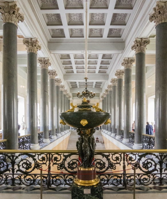 Entrance hall for visiting dignitaries, The Hermitage Museum, St. Petersburg, Russia