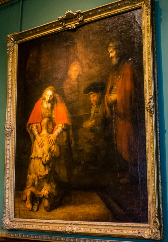 """Return of the Prodigal Son"" by Rembrandt van Rijn, Hermitage Museum, St. Petersburg, Russia"