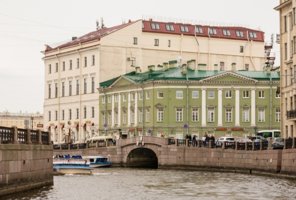 The city is chock full of former palaces – of all shapes, sizes, opulence and state of reconstruction, St. Petersburg, Russia