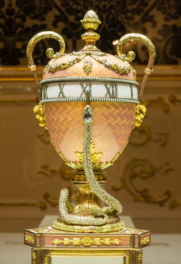 The Duchess of Marlborough Egg (previously owned by Malcolm Forbes, New York, NY), Fabergé Museum, St. Petersburg, Russia