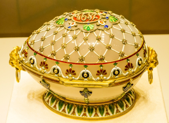 The Renaissance Egg, 1894 (previously owned by Malcolm Forbes, New York, NY), Fabergé Museum, St. Petersburg, Russia