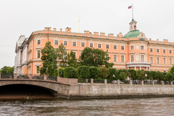 This former palace was taken over years ago by the Russian government, St. Petersburg, Russia