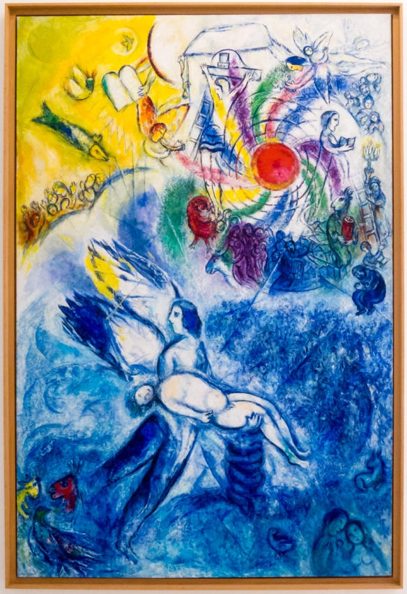 The Creation of Man, Marc Chagall 1956-1958, oil on canvas, Museo Nazionale Marc Chagall (Marc Chagall National Museum), Nice, France