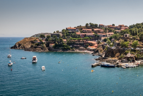The point separating Collioure, France, from Port Vendres, to the south