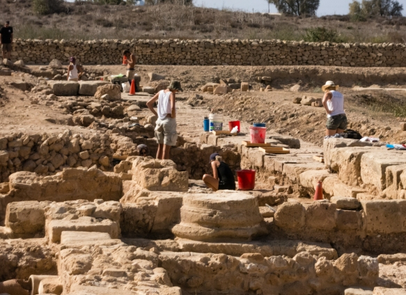 a-team-from-a-university-in-poland-under-the-supervision-of-cypriot-archaeologists-conducting-a-dig-in-a-portion-of-the-agora-of-kato-pathos-the-forum-or-central-meeting-place-of-the-city-kato