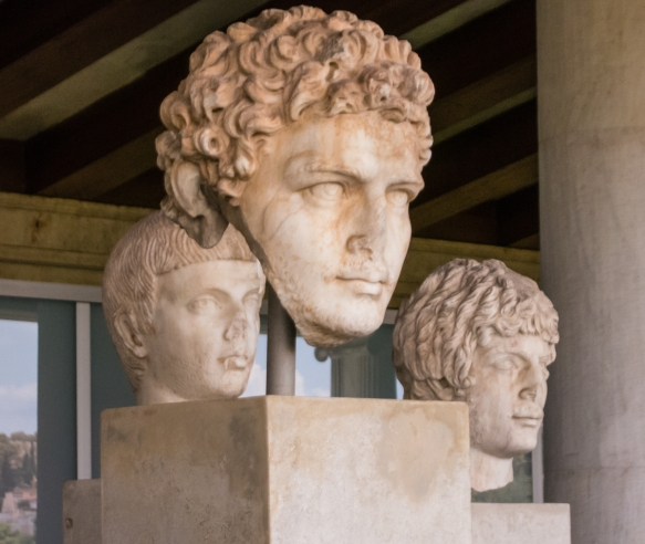 facial-sculptures-of-prominent-greeks-found-in-the-ancient-agora-of-athens-and-now-displayed-in-the-museum-of-the-athenian-agora-athens-greece
