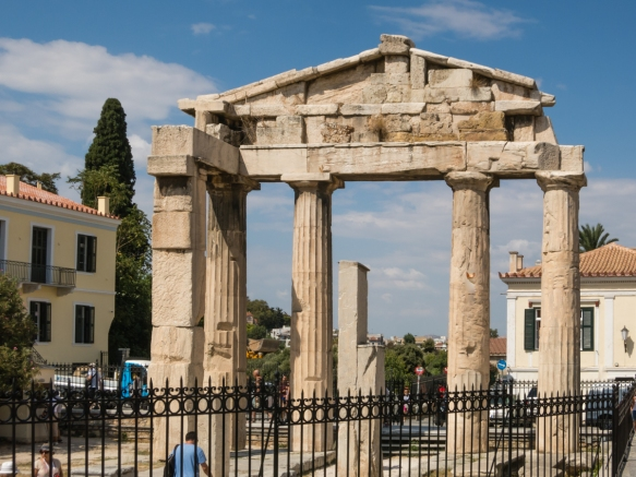 gate-of-athena-archegetis-in-the-roman-agora-athens-greece