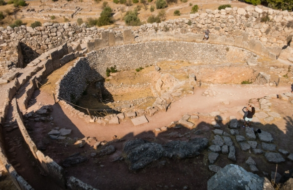 grave-circle-a-was-a-cemetery-of-royal-tombs-from-the-beginning-of-the-late-helladic-i-period-16th-century-b-c-mycenae-acropolis-mycenae-greece