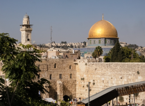 one-of-jerusalem-israels-most-visible-religious-sites-is-the-dome-of-the-rock-a-7th-century-islamic-shrine-with-a-gold-dome-on-the-temple-mount-in-the-walled-old-city