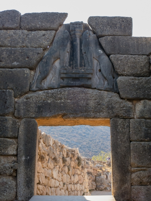 the-famous-lion-gate-is-regarded-as-europes-oldest-monumental-sculpture-it-is-the-main-monumental-entrance-to-the-fortified-citadel-of-the-mycenae-acropolis-and-is-the-only-known-monumental