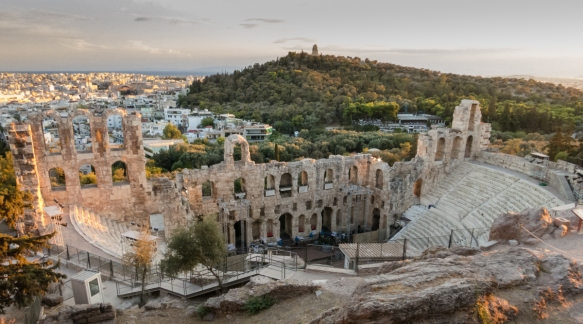 the-famous-roofed-odeon-of-herodes-atticus-built-circa-174-a-d-dominates-the-western-end-on-the-south-slope-of-the-acropolis-and-served-mainly-musical-festivals-seating-up-to-5000-people-athens