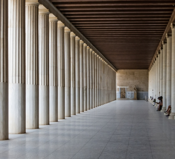 the-interior-walkway-of-the-reconstructed-stoa-of-attalos-the-shops-in-ancient-times-were-to-the-right-of-the-interior-columns-today-the-home-of-the-museum-of-the-athenian-agora-athens-gr