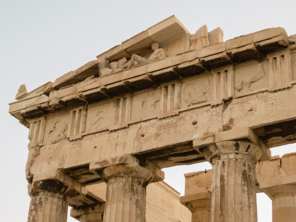 the-sculptures-in-the-east-pediment-of-the-parthenon-narrate-the-birth-of-athena-from-the-head-of-her-father-zeus-the-acropolis-athens-greece