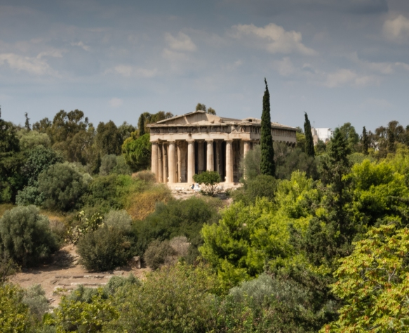 the-temple-of-hephaistos-5th-century-b-c-viewed-through-the-trees-from-the-balcony-of-the-reconstructed-stoa-of-attalos-across-the-ancient-agora-of-athens-greece