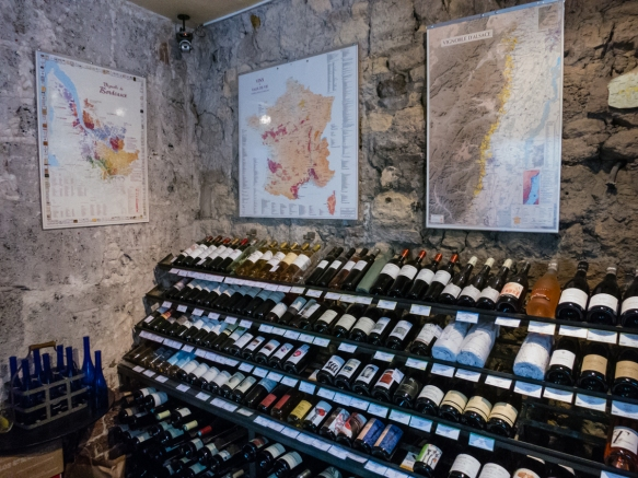 our-dining-room-at-la-derniere-goutte-wine-shop-had-excellent-maps-of-the-french-wine-regions-along-with-some-of-the-shops-wine-storage-paris-by-mouth-taste-of-saint