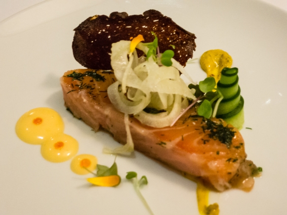 a-main-course-of-43-degree-tasmanian-salmon-fresh-caught-salmon-from-the-waters-off-tasmania-that-is-cooked-in-a-plastic-bag-in-water-heated-to-43-degrees-centigrade-109-4-degrees