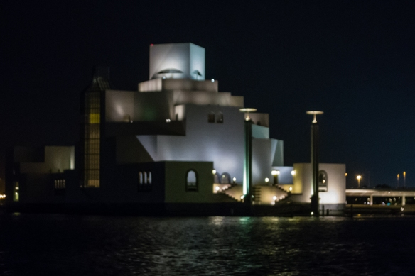 designed-by-chinese-american-architect-i-m-pei-the-iconic-modern-exterior-of-the-museum-of-islamic-art-mia-with-islamic-inspiration-stands-out-on-the-peninsula-of-doha-bay