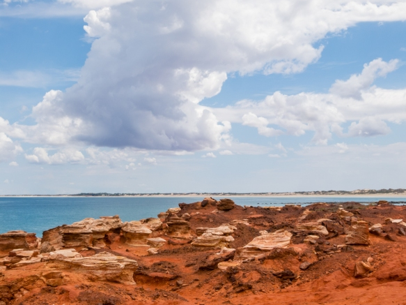 gantheaume-point-is-a-promontory-that-encompasses-a-stretch-of-white-sandy-beach-as-well-as-a-red-rock-cliff-face-overlooking-the-turquoise-waters-of-the-indian-ocean-about-a-ten-minute-drive-from-th