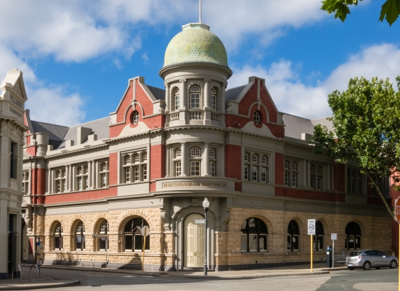 many-of-the-citys-19th-century-buildings-have-been-lovingly-and-beautifully-restored-here-the-old-mediterranean-shipping-companys-headquarters-fremantle-australia