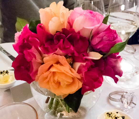 one-of-the-beautiful-rose-floral-arrangements-on-the-table-from-the-estate-gardens-at-la-fore%cc%82t-enchantee-the-enchanted-forest-margaret-river-region-western-australia