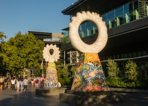 sculptures-along-the-southbank-neighborhood-add-to-the-vibrancy-of-the-redeveloped-river-front-neighborhood-where-office-buildings-hotels-restaurants-cafes-bars-attract-huge-crowds-day-and-night