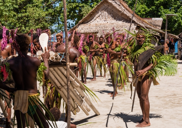 Fifth dance troupe (II), Traditional Ceremonial Dances on Santa Ana, Solomon Islands