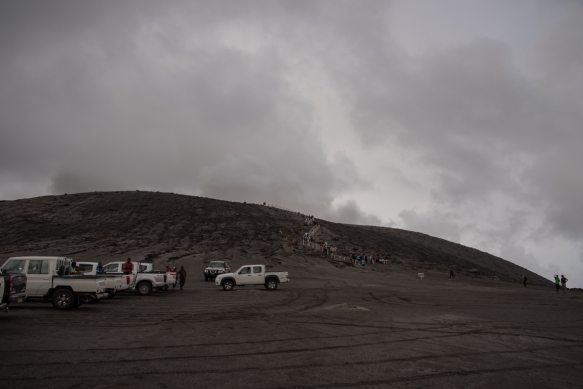 we-boarded-four-wheel-drive-trucks-owned-and-driven-by-the-locals-for-the-45-minute-drive-to-the-crater-rim-of-mount-yasur-timed-so-we-would-arrive-at-dusk-in-order-to-see-the-mountain-mount-yasur