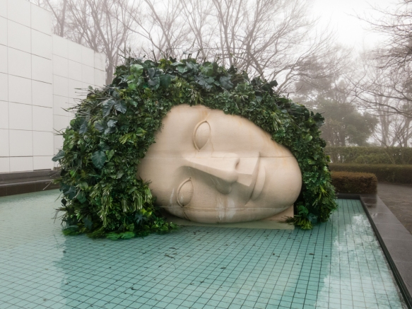 Outdoor sculpture (#1), The Hakone Open-Air Museum, Hakone-machi, Kanagawa-ken, Japan