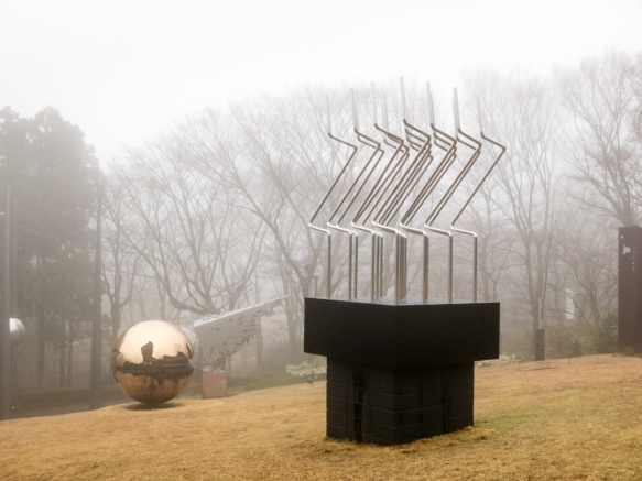 Outdoor sculpture (#4), The Hakone Open-Air Museum, Hakone-machi, Kanagawa-ken, Japan