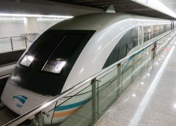 "Almost ""faster than a speeding bullet"", the Shanghai Maglev Train is a magnetic levitation train, or maglev, in Shanghai, China, that began commercial operation in 2004; we rode the"