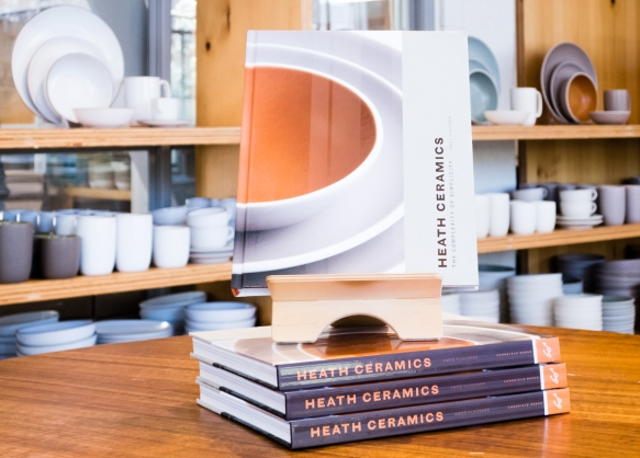 Heath Ceramics is an American company that designs, manufactures, and retails goods for tabletop and home, best known for handcrafted ceramic tableware and architectural tile in distinct