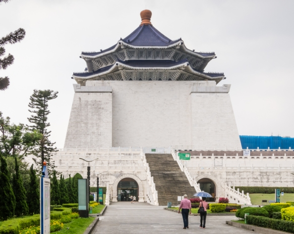 The most prominent historical landmark in Taiwan, the Chiang Kai-Shek Memorial Hall was erected in honor and memory of Generalissimo Chiang Kai-shek, the former President of the Republic