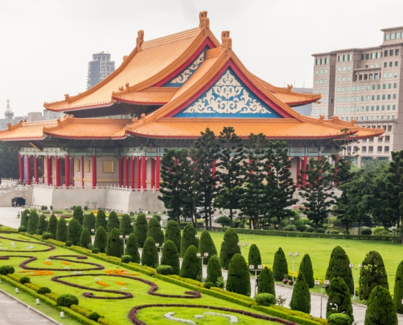 The National Theater & Concert Hall, Chiang Kai-Shek Memorial Hall, Taipei, Taiwan