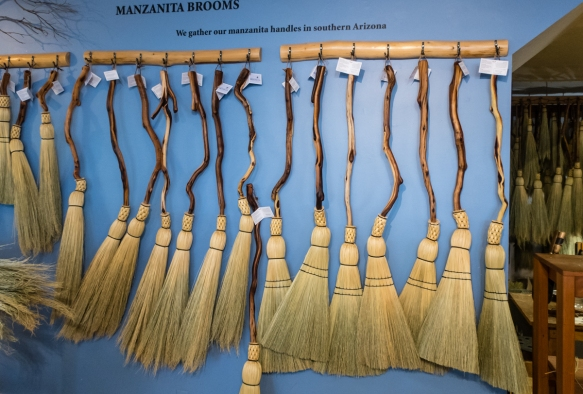 Granville Island Broom Co. specializes in the traditional art of handcrafted broom making – the brooms are woven using Shaker methods and are designed to withstand years with regular u