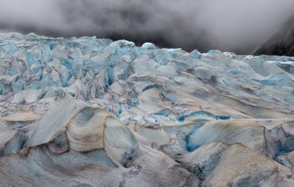 Mendenhall Glacier portrait (#1), Juneau, Alaska, USA