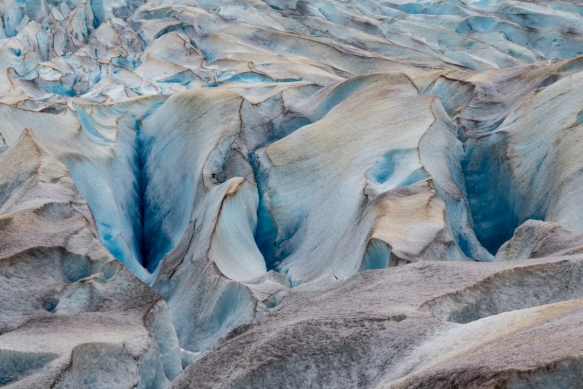 Mendenhall Glacier portrait (#2), Juneau, Alaska, USA