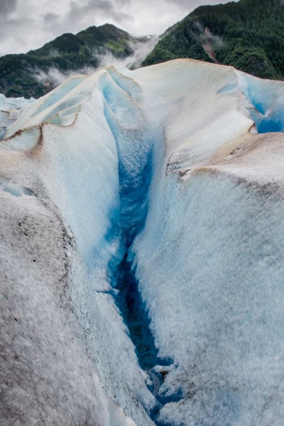 Mendenhall Glacier portrait (#3), Juneau, Alaska, USA