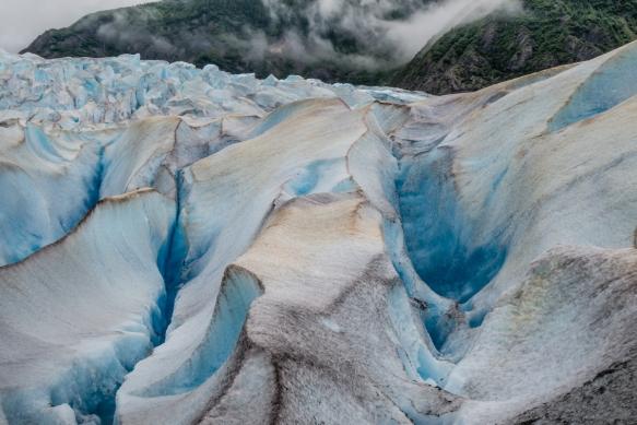 Mendenhall Glacier portrait (#4), Juneau, Alaska, USA