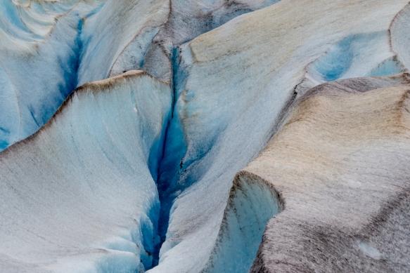 Mendenhall Glacier portrait (#6), Juneau, Alaska, USA