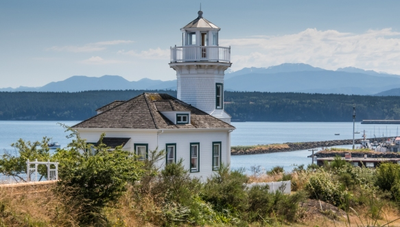 Port Townsend Lighthouse, Port Townsend, Washington, USA