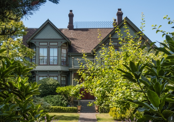 Restored private home #2 on our driving tour of Port Townsend, Washington, USA