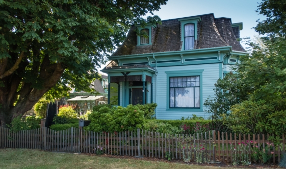 Restored private home #3 on our driving tour of Port Townsend, Washington, USA