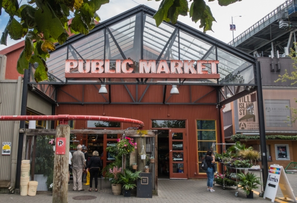 The Public Market on Granville Island, Vancouver, British Columbia, Canada, is probably the island_s best know attraction with a diverse range of vendors offering both fresh produce an