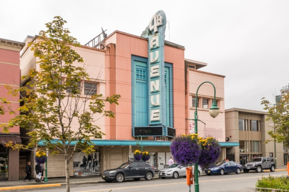 4th Avenue Theatre is a grand, art-deco-style theatre that opened in 1947; it is currently awaiting a major renovation; Anchorage, Alaska, USA