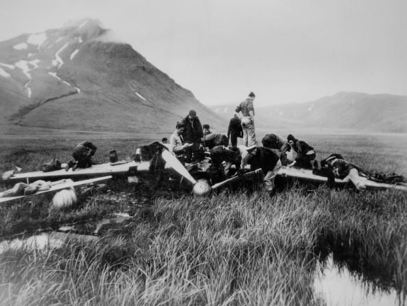 """The Prize of the Aleutians"" was found in Dutch Harbor -- a captured, downed Japanese Zero airplane that had been declared by the U.S. War Department (in the late 1930s) to be ""…"