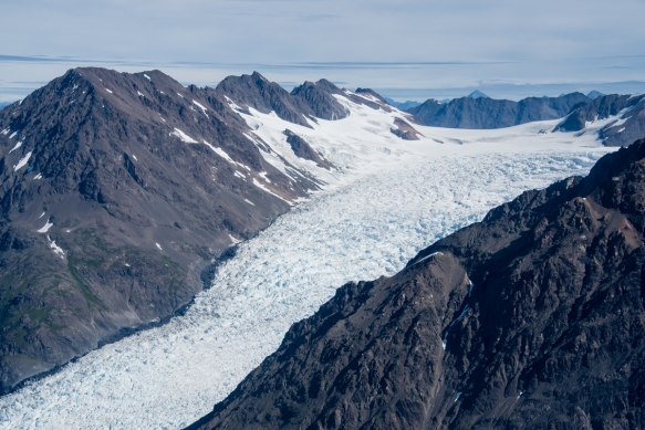 Knik Glacier, Anchorage, Alaska USA