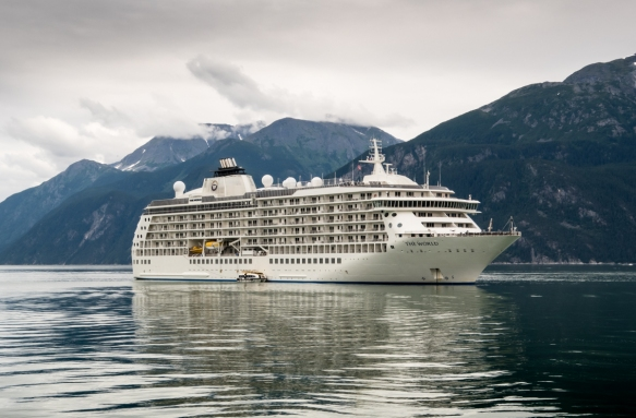 Our ship anchored for two days in the harbor of Haines, Alaska, USA
