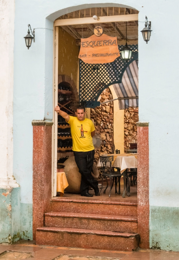 A local paladar, a family-owned restaurant, Trinidad, Cuba