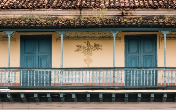 A nicely restored colonial era building in Trinidad, Cuba