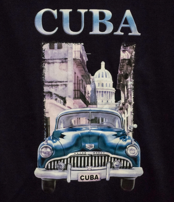 One of many composite images evoking memories of a visit to Cuba – on the street in Cienfuegos, Cuba